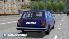 ВАЗ 2104 (1.5.9) - City Car Driving мод (изображение 2)