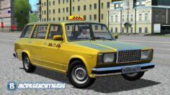 ВАЗ 2104 (1.5.9) - City Car Driving мод (изображение 4)