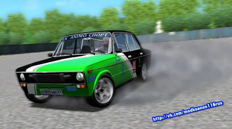 ВАЗ 2106 Тюнинг (1.5.9) - City Car Driving мод