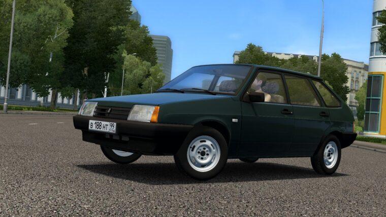ВАЗ 2109 (1.5.9) - City Car Driving мод