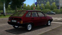 ВАЗ 2109 (1.5.9) - City Car Driving мод (изображение 3)