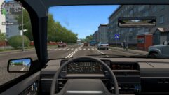 ВАЗ 2109 (1.5.9) - City Car Driving мод (изображение 5)
