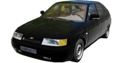 ВАЗ 21124 2007 г.в. (1.5.9) - City Car Driving мод
