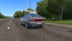 ВАЗ 21124 2007 г.в. (1.5.9) - City Car Driving мод (изображение 3)