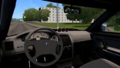 ВАЗ 21124 2007 г.в. (1.5.9) - City Car Driving мод (изображение 4)