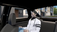 ВАЗ 21124 2007 г.в. (1.5.9) - City Car Driving мод (изображение 5)