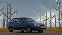 Ваз 2114 16v (1.5.9) - City Car Driving мод (изображение 3)