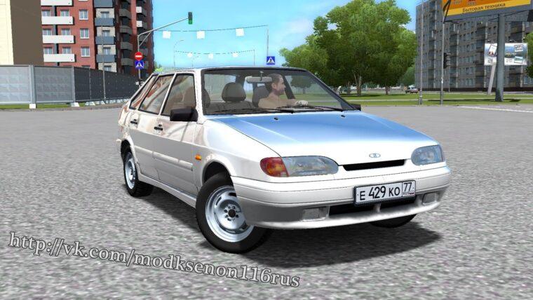 ВАЗ 2114 (1.5.9) - City Car Driving мод