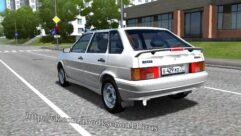 ВАЗ 2114 (1.5.9) - City Car Driving мод (изображение 2)