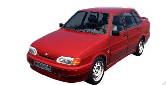 ВАЗ 2115 (1.5.9) - City Car Driving мод