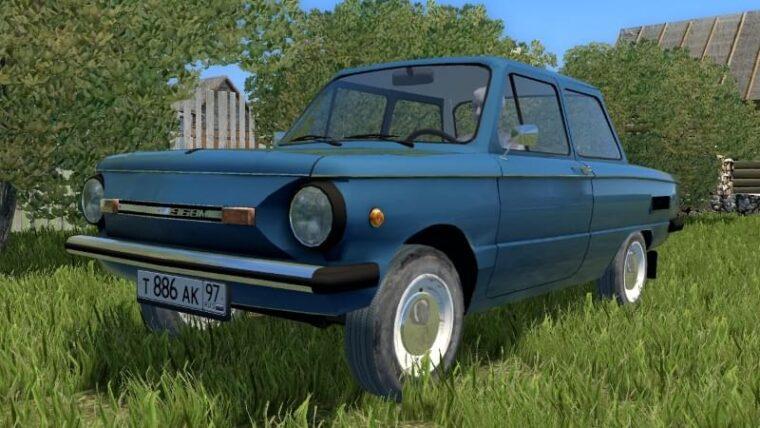 ЗАЗ 968М (1.5.9) - City Car Driving мод