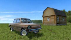 ЗАЗ 968М (1.5.9) - City Car Driving мод (изображение 4)