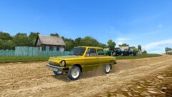 ЗАЗ 968М (1.5.9) - City Car Driving мод (изображение 5)