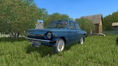 ЗАЗ 968М (1.5.9) - City Car Driving мод (изображение 8)