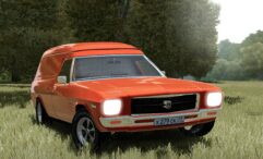 1974 Holden Sandman HQ Panel Van (1.5.9) - City Car Driving мод (изображение 2)