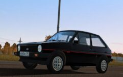 1981 Ford Fiesta XR2 MK1 (1.5.9) - City Car Driving мод