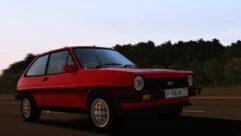 1981 Ford Fiesta XR2 MK1 (1.5.9) - City Car Driving мод (изображение 4)