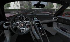 2014 Porsche 918 Spyder (1.5.9) - City Car Driving мод (изображение 3)