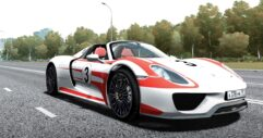 2014 Porsche 918 Spyder (1.5.9) - City Car Driving мод (изображение 4)