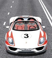 2014 Porsche 918 Spyder (1.5.9) - City Car Driving мод (изображение 5)