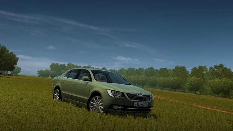 2014 Skoda Superb (1.5.9) - City Car Driving мод