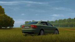 2014 Skoda Superb (1.5.9) - City Car Driving мод (изображение 2)