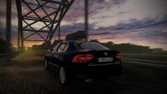 2014 Skoda Superb (1.5.9) - City Car Driving мод (изображение 3)