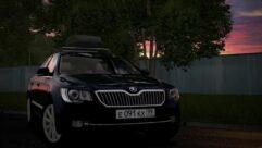 2014 Skoda Superb (1.5.9) - City Car Driving мод (изображение 4)
