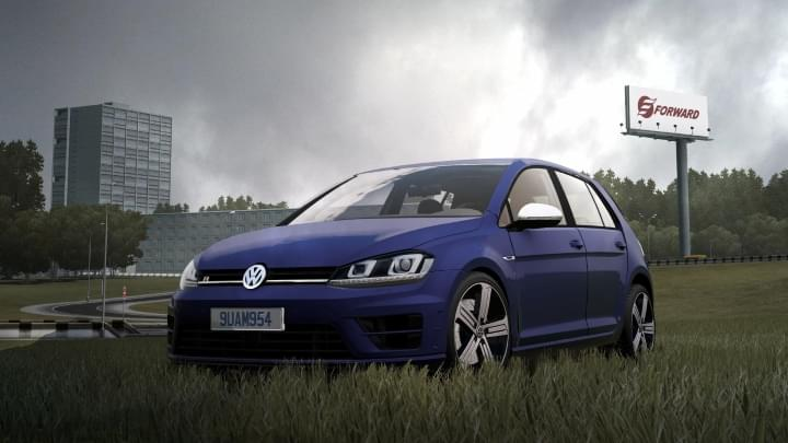 2014 Volkswagen Golf R (1.5.9) - City Car Driving мод