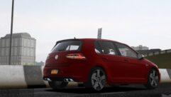 2014 Volkswagen Golf R (1.5.9) - City Car Driving мод (изображение 2)