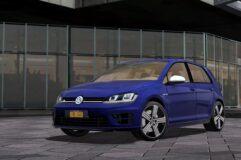 2014 Volkswagen Golf R (1.5.9) - City Car Driving мод (изображение 4)