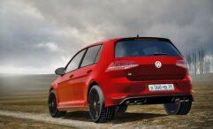 2014 Volkswagen Golf R (1.5.9) - City Car Driving мод (изображение 8)