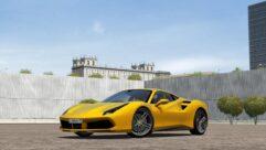 2015 Ferrari 488 GTB (1.5.9) - City Car Driving мод (изображение 4)
