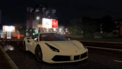 2015 Ferrari 488 GTB (1.5.9) - City Car Driving мод (изображение 9)
