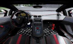 2015 Lamborghini Aventador SuperVeloce Coupe (1.5.9) - City Car Driving мод (изображение 3)