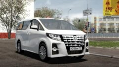 2015 Toyota Alphard (1.5.9) - City Car Driving мод