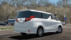 2015 Toyota Alphard (1.5.9) - City Car Driving мод (изображение 2)