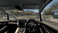 2015 Toyota Alphard (1.5.9) - City Car Driving мод (изображение 3)