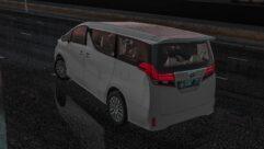 2015 Toyota Alphard (1.5.9) - City Car Driving мод (изображение 4)