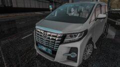 2015 Toyota Alphard (1.5.9) - City Car Driving мод (изображение 6)