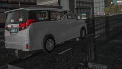 2015 Toyota Alphard (1.5.9) - City Car Driving мод (изображение 7)