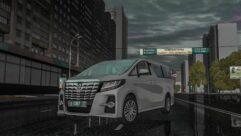 2015 Toyota Alphard (1.5.9) - City Car Driving мод (изображение 8)