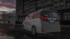 2015 Toyota Alphard (1.5.9) - City Car Driving мод (изображение 9)