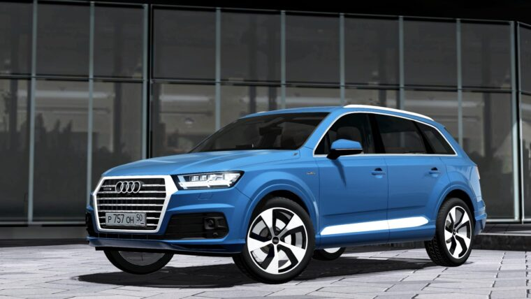 2016 Audi Q7 (1.5.9) - City Car Driving мод