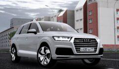 2016 Audi Q7 (1.5.9) - City Car Driving мод (изображение 4)