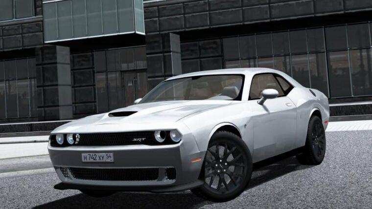 2016 Dodge Challenger SRT Hellcat (1.5.9) - City Car Driving мод