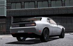 2016 Dodge Challenger SRT Hellcat (1.5.9) - City Car Driving мод (изображение 5)