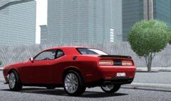 2016 Dodge Challenger SRT Hellcat (1.5.9) - City Car Driving мод (изображение 6)
