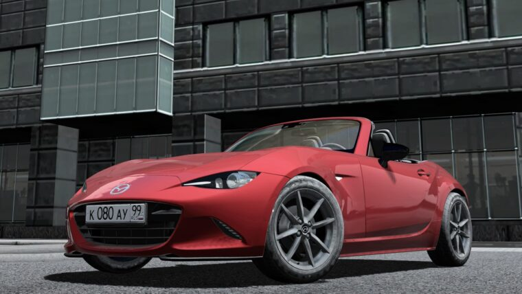 2016 Mazda MX-5 ND Miata (1.5.9) - City Car Driving мод