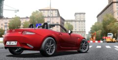 2016 Mazda MX-5 ND Miata (1.5.9) - City Car Driving мод (изображение 2)